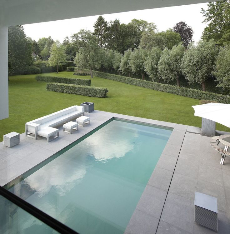 Private Home in Gent, Rietveld Projects  Pinned to Pool Design by Darin Bradbury.