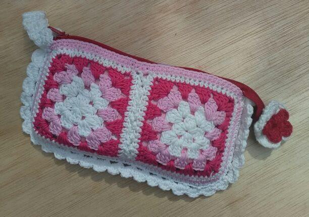 <3 Crochet pouch <3