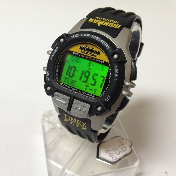 STUNNING TIMEX IRONMAN TRIATHLON Mens Diver Watch Hours