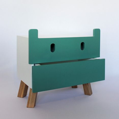 mostros kids furniture by oscar nunez