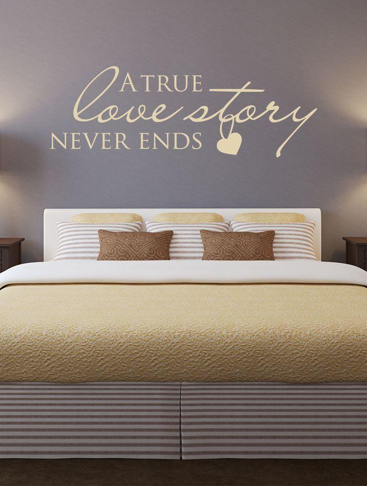 52 besten Sprüche für die Wand Bilder auf Pinterest Sprüche für - wandtattoos fürs schlafzimmer