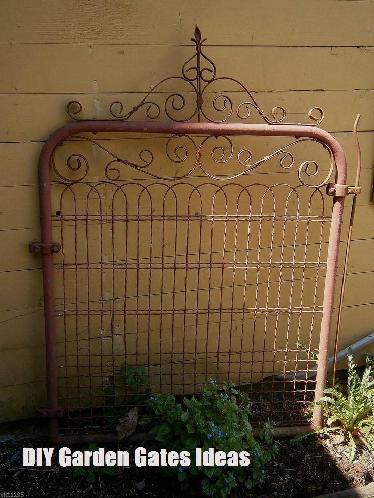 Top 10 Diy Garden Gates Ideas Garden Gate Design Garden Gate Decor Garden Gates