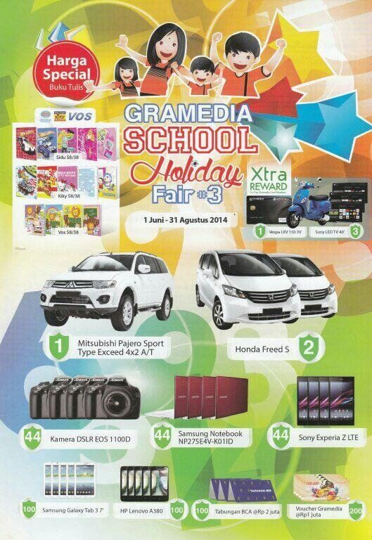 Gramedia: Promo School Holiday Fair #3 @gramediabooks