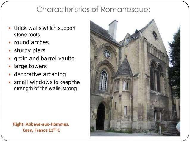romanesque architecture in england
