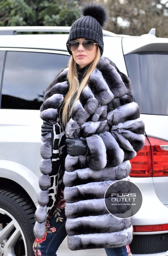 NEW 2017 ROYAL CHINCHILLA FUR COAT HOOD CLASS JACKET MINK SABLE FOX VELVET LYNX | Clothes, Shoes & Accessories, Women's Clothing, Coats & Jackets | eBay!