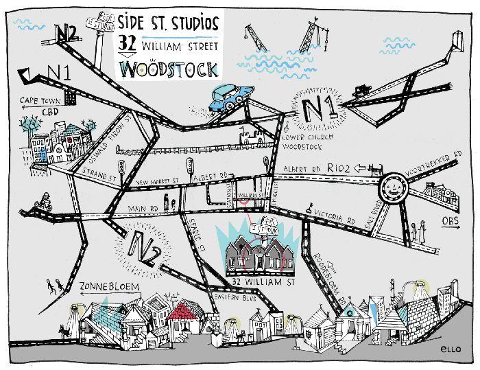 + >> DESIGN // ILLUSTRATION >> SIDE STREET STUDIOS black koki en eLLo