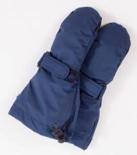 Ducksday Thermo Handschuhe für Kinder wasserdicht Farbe blau - Bild vergrößern