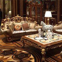 Brunello Luxury Living Room