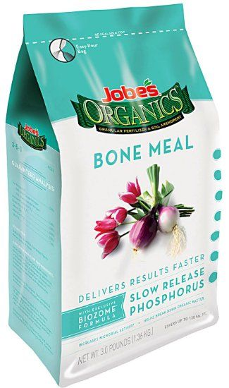 Jobe's 09326 Organic Bone Meal Granular Fertilizer 4-Pound Bag