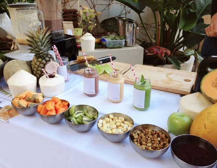 Custom Juice & Smoothie Bar with Trilogy Advanced Natural Skincare