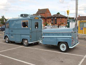 H van & trailer
