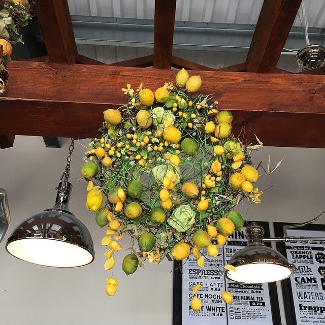 Lemon ring made for local cafe.