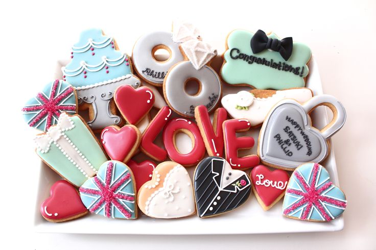 Tiffany&UK icing cookies