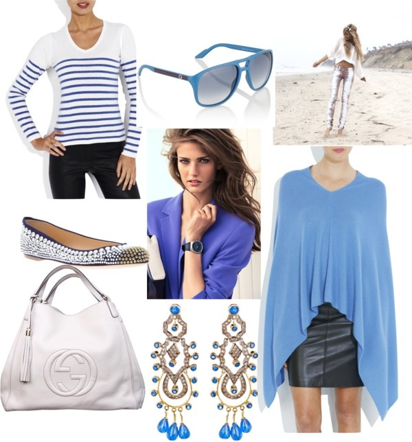 """""""Feeling Blue!"""" by sindhi on Polyvore"""