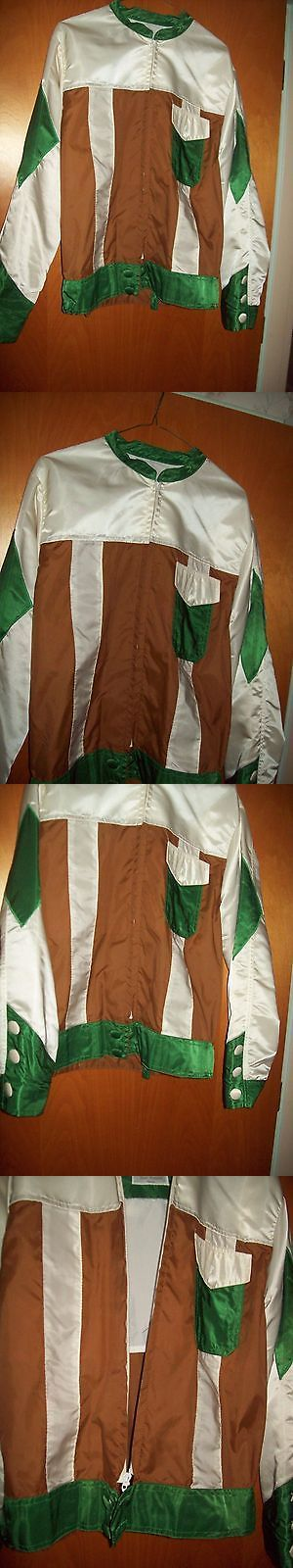 Other Driving Equipment 13376: Vintage Equestrian Roadster Racing Silk Driving Jacket Mediam Size -> BUY IT NOW ONLY: $99.99 on eBay!