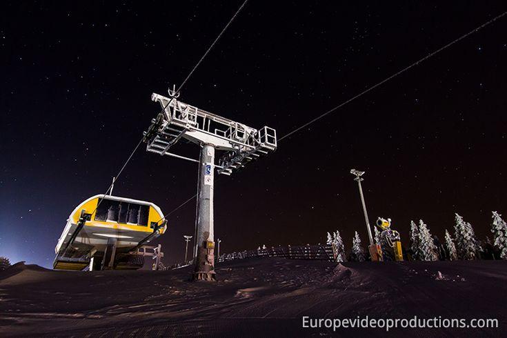 Ski lift in Levi – Lapland's leading ski resort.  Saariselkä activities http://www.saariselka.com/individual/activities