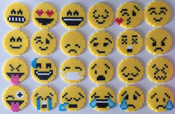 Emoji Perler perline (24 stili)