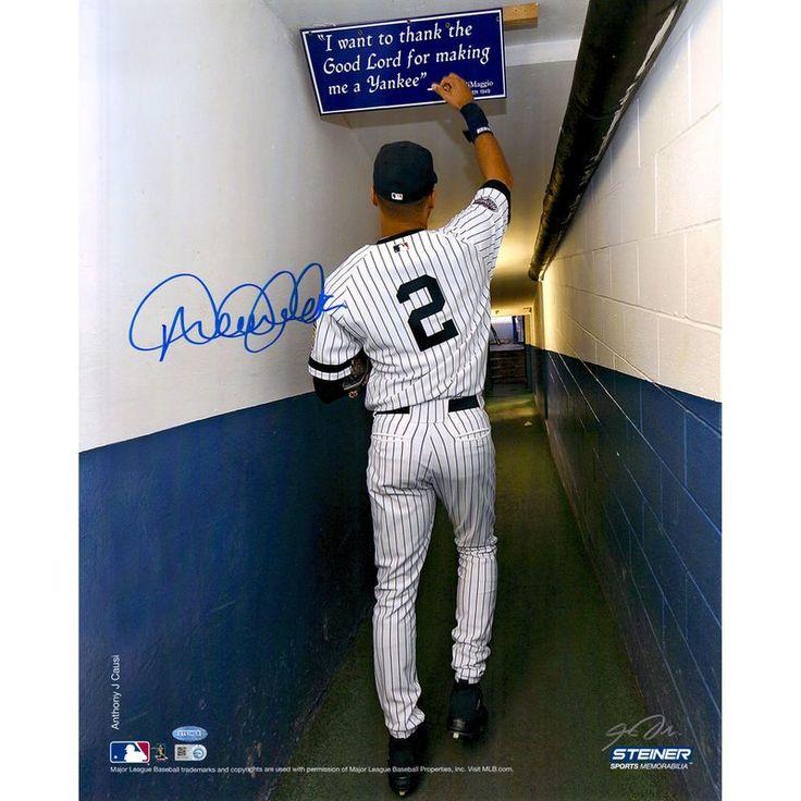 Derek Jeter New York Yankees Steiner Sports Autographed 16'' x 20'' In Tunnel Photograph
