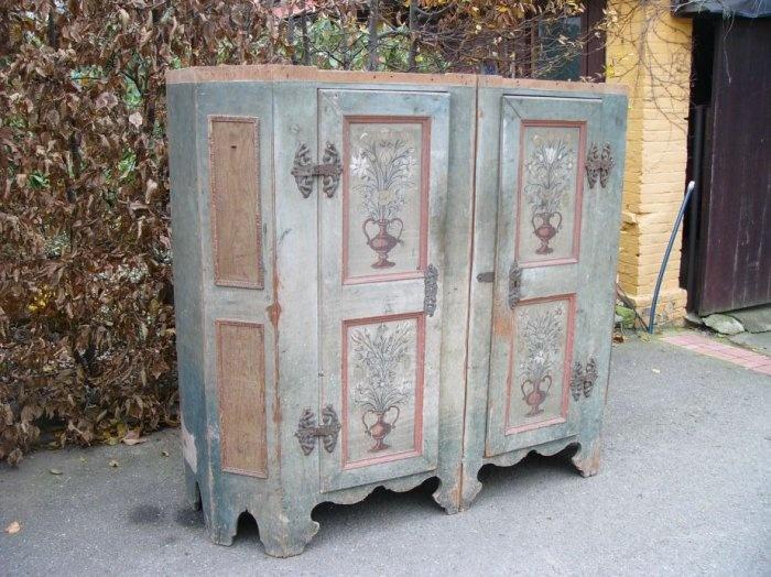 Old Painted Furniture Boho Style Pinterest