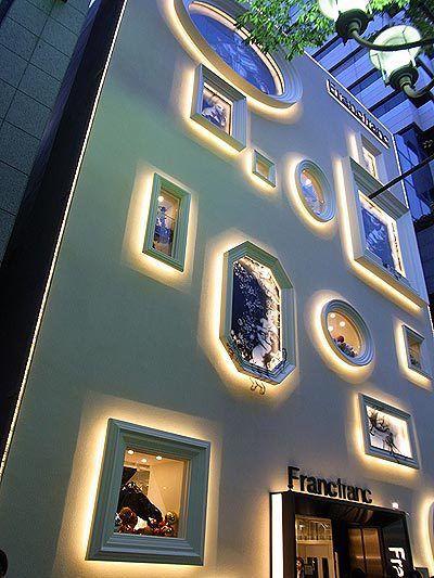 Storefront of FrancFranc in Nagoya Japan - very cool
