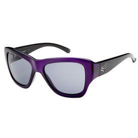Fox Racing Gu Gu Ladies Sunglasses Trans Purple Frame/Grey Lens by Fox Racing. $120.00. Fox Racing casual wear is becoming one of the leading brand names in motocross apparel today. Not only does the Fox Racing casual apparel look good, but its made with high quality fabric and sewn giving it a durable and comfortable fit. Fox Racing designs a wide range of apparel for ladies, men and youth from; Sweatshirts, T-Shirts and Jeans, to Belts, Socks, Shoes, and Hats. Each of Fox ...