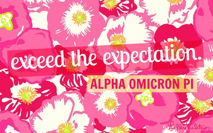 exceed the expectation <3 AOII