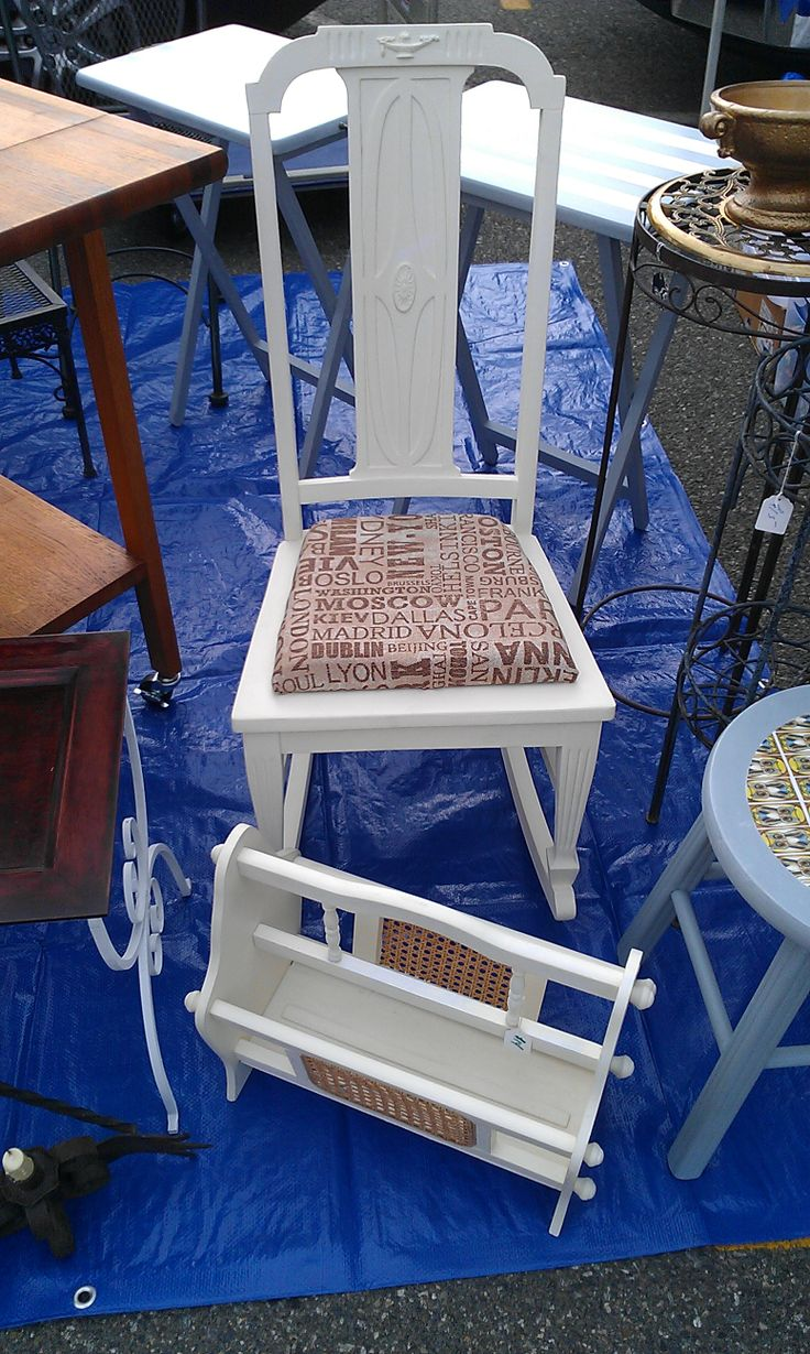 We Found This Great Art Deco Rocker Which Was Missing A Seat After Removing About