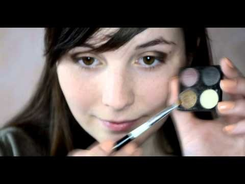 We invite you to watch a Make-up tutorial :) Evening look in shades of golds and browns.