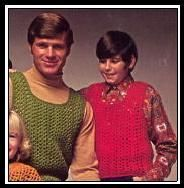 Free Vintage Crochet Pattern From 1970: Manly Tank Tops. For Boys Or Men's Sizes Or Larger Women (Up To Size 42 Chest) From http://www.allfreecrochet.com/Crochet-for-Children/Manly-Tank-Tops