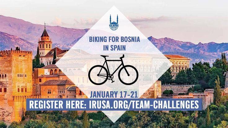 Biking for Bosnia in Spain - Islamic Relief USA