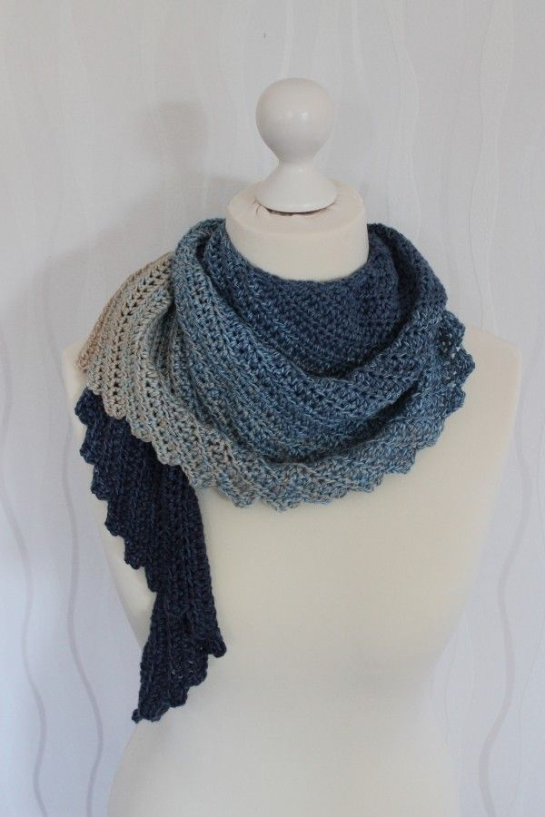 328 best shawl images on Pinterest | Knit patterns, Knitted shawls ...