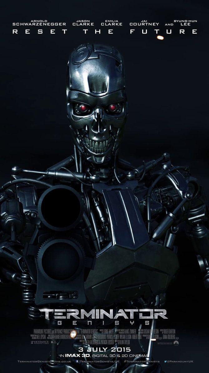 Terminator: Genisys - movie poster - sachso74.deviantart.com