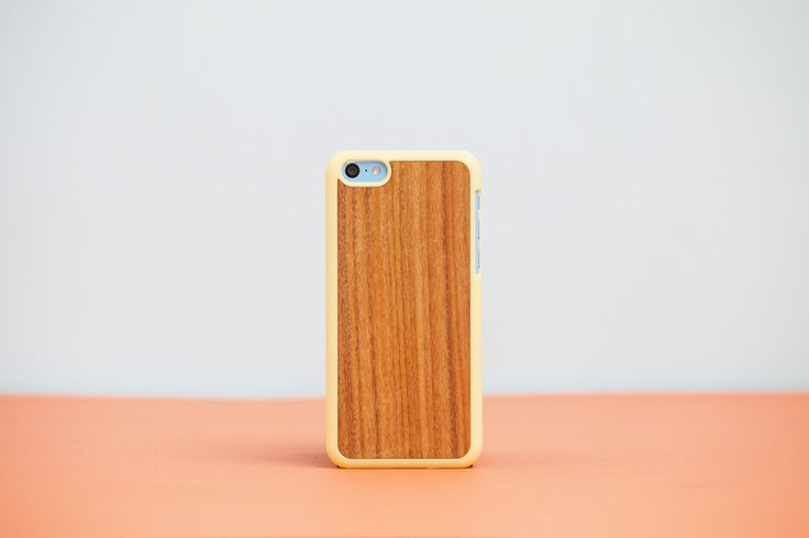 Cover iPhone 5c Yellow - Rosewood // Wood'd #woodd