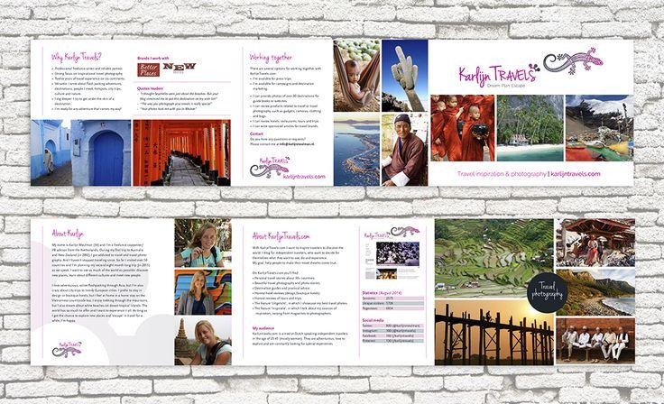 Folder voor Karlijn Travels