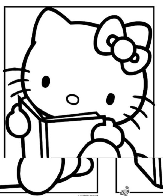 Hello Kitty Soccer Coloring Pages. hello kitty coloring pages book 29 best Education images on Pinterest  Coloring books