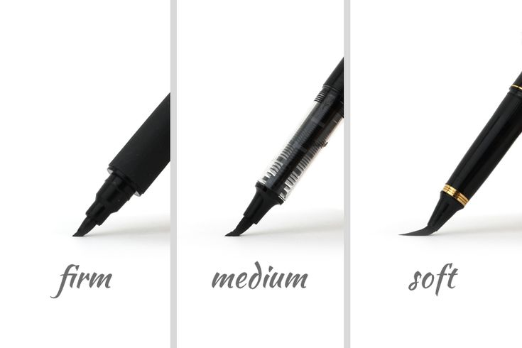Guide To Choosing A Brush Pen For Calligraphy - JetPens.com