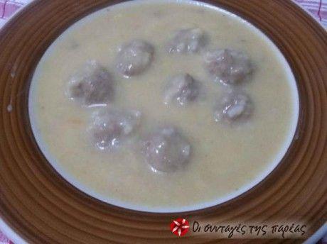 Γιουβαρλάκια σούπα