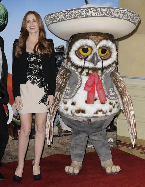 Isla Fisher and Abigail Breslin promote Rango