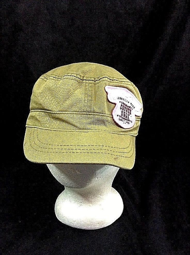 American Made Coyote Ugly Cadet Bar Dance Ugly Wear Hat Military Style Cap #UglyWear #CadetMilitary #bar
