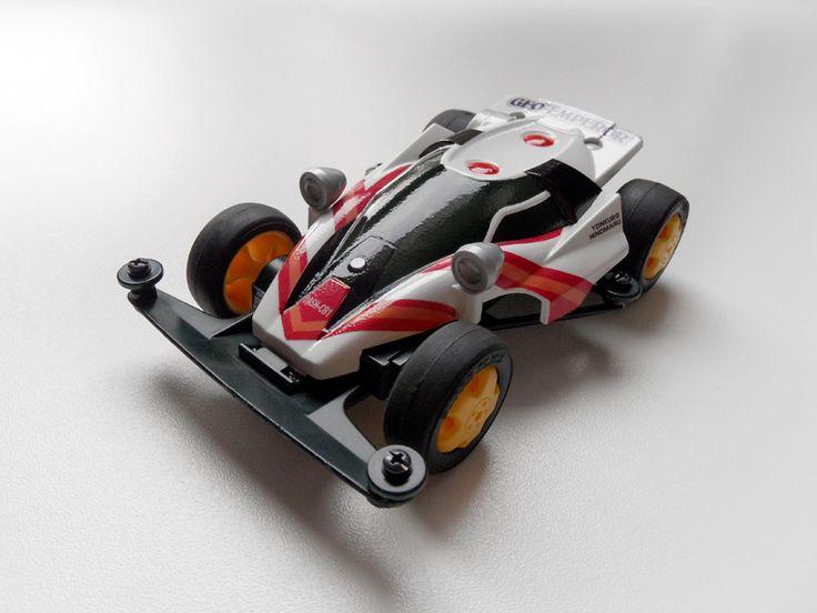 Dash CB1 Geo-Emperor by Aran (original) | Mini 4WD | #Mini4WD | #Tamiya