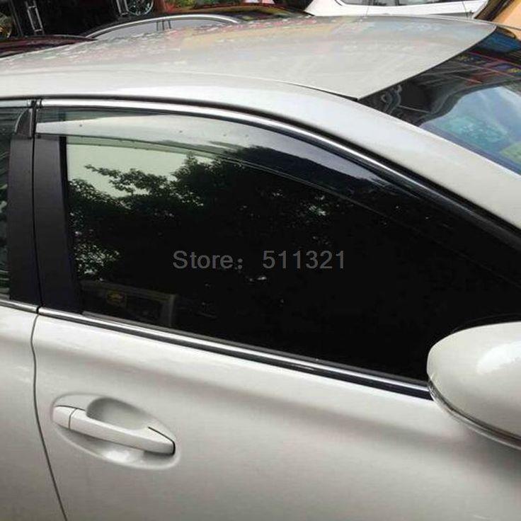 Car styling Window Visors For KIA Sportage 2016 2017 2016 2017 Sun Rain Rain Shield Stickers Covers Car-Styling Awnings Shelters