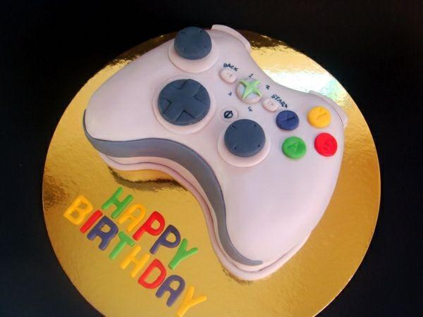 Gâteau parfait pour ceux qui aiment les jeux vidéo