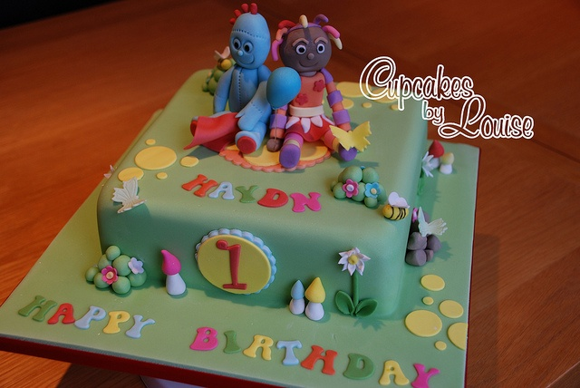 In the night garden cake by bakerlou1, via Flickr
