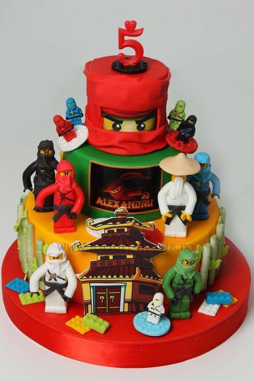 Lego Ninjago pentru Alexandru