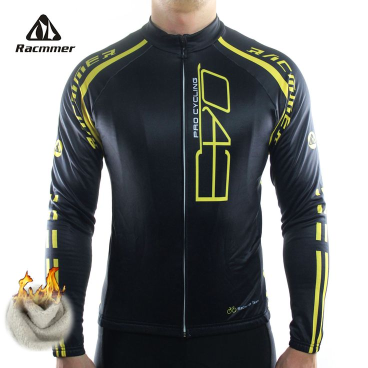 Racmmer 2016 Cycling Jersey Winter Long Bike Bicycle Thermal Fleece Ropa Roupa De Ciclismo Invierno Hombre Mtb Clothing #ZR-18