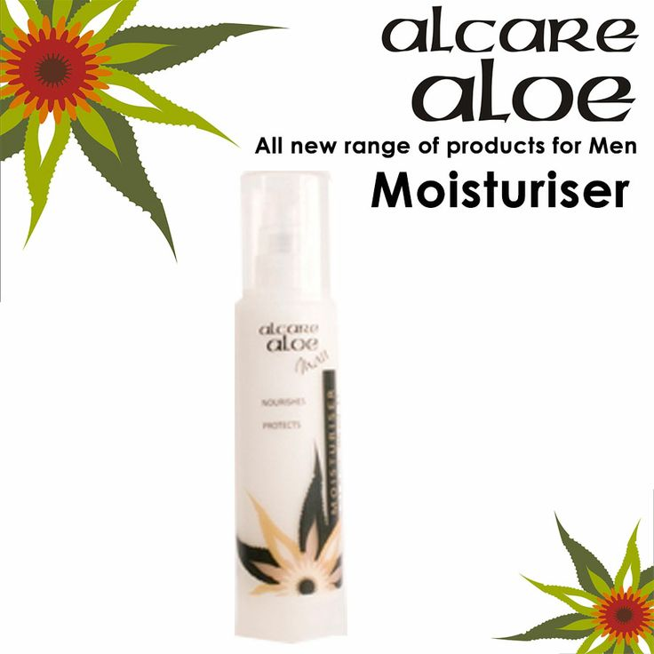 Alcare Aloe now have a range for range for Men Moisturizer - Men (tube) A complex formulation that moisturises and nourishes your skin, protecting it against moisture loss, leaving it smooth and supple. Aloe ferox is harvested in the wild in an ecologically friendly way. Order online: http://on.fb.me/1fJVdeb Become an agent: http://on.fb.me/1bxnP99 #aloe, #beauty, #men