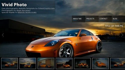 Cool HTML templates..