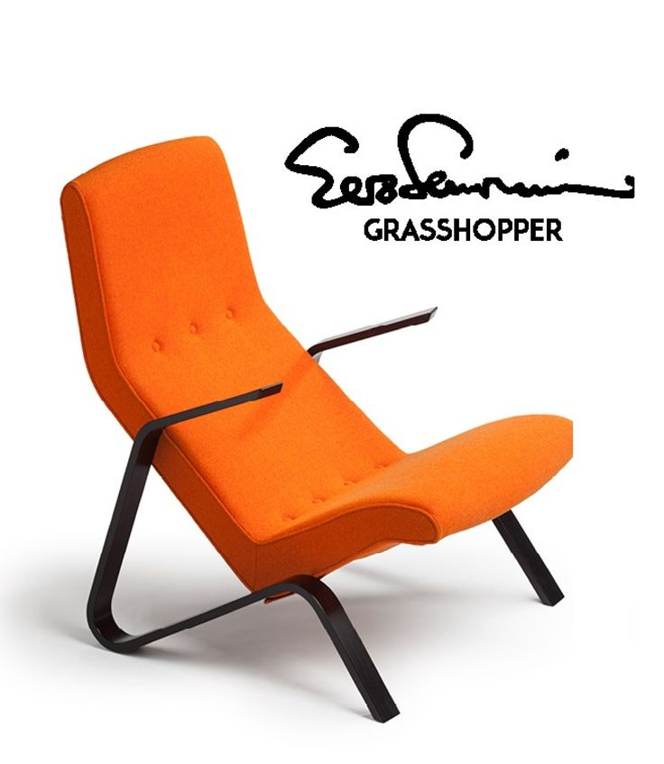 "Eero Saarinen's ""Grasshopper"" designed in 1946 for Knoll was the first in a series of innovative sculptural pieces he created for Knoll, produced until 1965. The classic chair will return into production, this time by the Finnish Tetrimäki, which will SOON launch a numbered set of 100 chairs. Tetrimäki is known for Eero's father, Eliel Saarinen's furniture as well as P.E. Blomstedt's Post Deco furniture. Further details announced LATER at www.tetrimaki.fi"