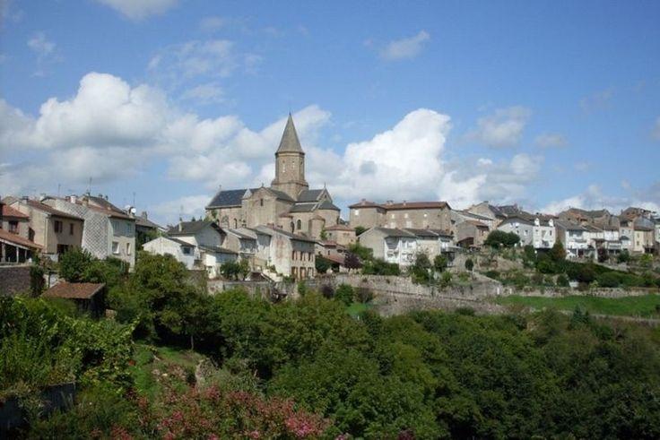 Point de vue panoramique du faubourg du Moutier