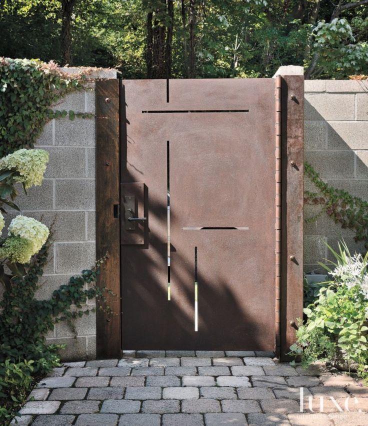 36 mejores imágenes de 40 ideas de portones de herrería para tu hogar en pinterest puertas de